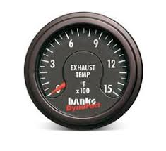 BANKS POWER DYNAFACT PYROMETER GAUGE 0-1500
