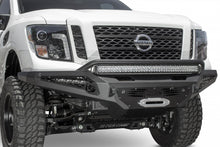 Load image into Gallery viewer, 2016 - Up Nissan Titan XD HoneyBadger Winch Front Bumper w/ Sensors