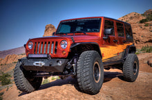 Load image into Gallery viewer, JK/JKU Epic Front Bumper w/out Hoop - Offset Drum Winch
