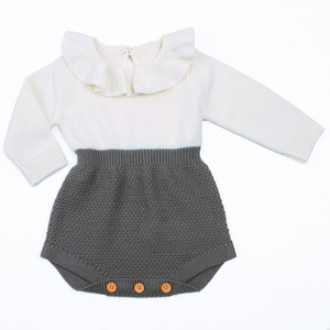 Autumn Sweater Romper for Girls