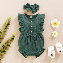 Load image into Gallery viewer, Riley 2-Piece Headband and Romper