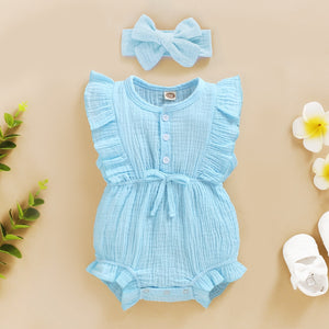 Riley 2-Piece Headband and Romper