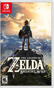 NINTENDO SWITCH GAME ZELDA BREATH OF THE WILD