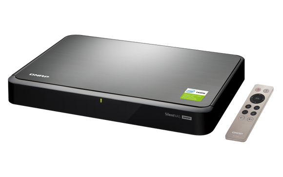 QNAP HS-251+ Quad-core silent & fanless NAS with HDMI-out for the best audiovisual experience