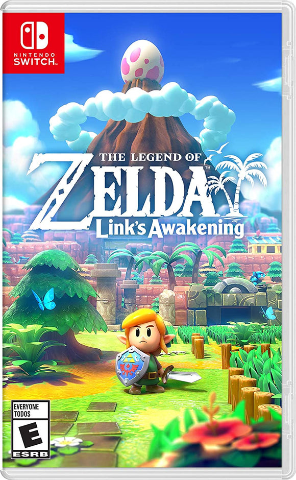 NINTENDO SWITCH GAME ZELDA LINKS AWAKENING