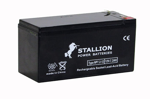 BATTERY STALLION POWER 12V 7.2AH