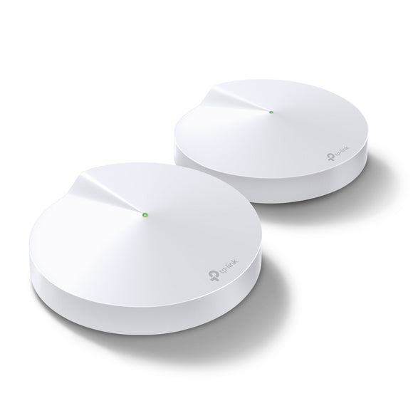 TPLINK DECO M5(2-PACK) AC1300 WHOLE HOME WI-FI SYSTEM