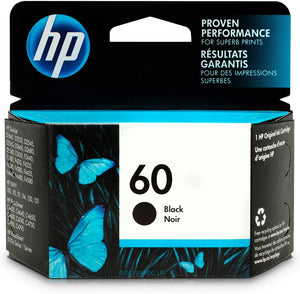 HP INK 60 ORIGINAL CC640WN BLACK 200PG