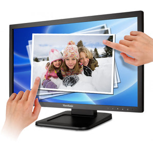 "ViewSonic  22"" 2-point Touch Screen Monitor TD2220-2"
