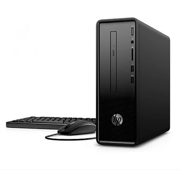 HP Desktop Slimline - 290-P0000NE- 4TX26EA Core i3-8100 4GB RAM 1TB HDD Integrated VRAM HD Graphics DOS