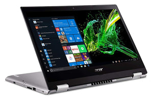 "Acer Spin 3 (SP314-53GN-52F4) i5,14"" TOUCH 8GB DDR4,128 SSD,1TB HDD,NVIDIA Win 10,Pure Silver"