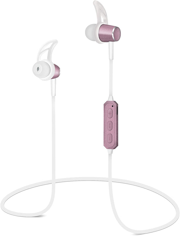 HYPERGEAR MAGBUDS EARPHONES ROSE BLUETOOTH MAGNETICS 14083, SILVER BLUETOOTH MAGNETICS 14099