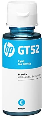 HP INK BOTTLE GT52 CYAN  M0H54AE