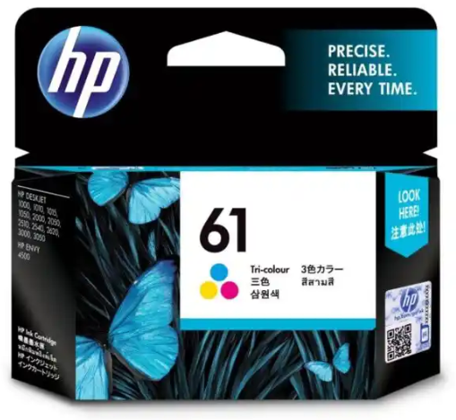 HP INK 61 ORIGINAL COLOR CH562WA