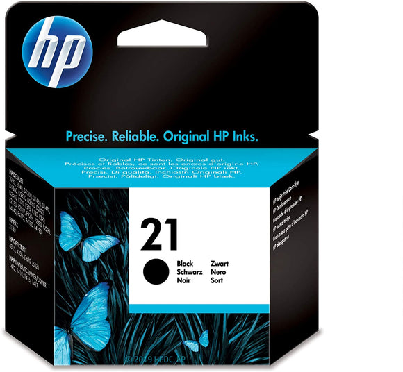 HP INK 21 BLACK   5 ml  C9351AE BA5/ABB/BA6