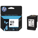 HP INK 123 BLACK CARTRIDGE F6V17AE