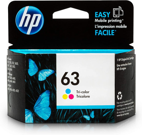 HP INK 63 COLOR ZHC63C