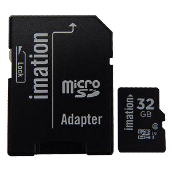 Micro SD™  32GB Express One, Imation  Class 10, Full HD, up to 45MB/s