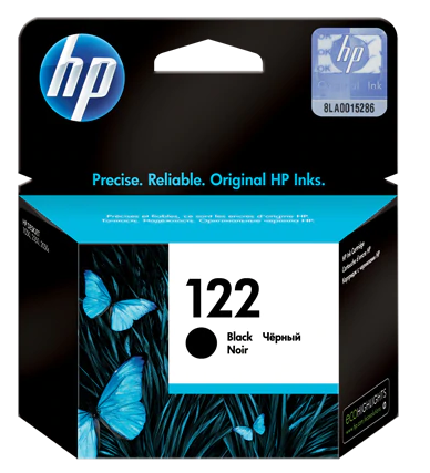 HP INK 122 BLACK CARTRIDGE CH561HE