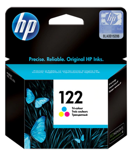 HP INK 122 TRI-COLOR CARTRIDGE CH562HE