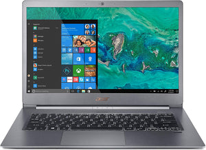 "Acer Swift 5 (SF514-53T-71XP)14""FHD IPS Multi-touch LCD,Intel Core i7-8565U,16GB DDR4,512GB PCIe NVMe SSD,Intel UHD Graphics,Windows 10 Home,Charcoal Blue"