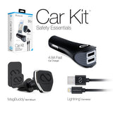 NAZTECH MFI MAGBUDDY CAR KIT LIGHTNING ROSE - BLACK 14301, 14270