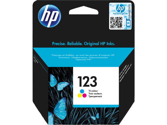 HP INK 123 COLOR CARTRIDGE F6V16AE