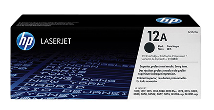 HP BLACK TONER 1015 Q2612A 12A