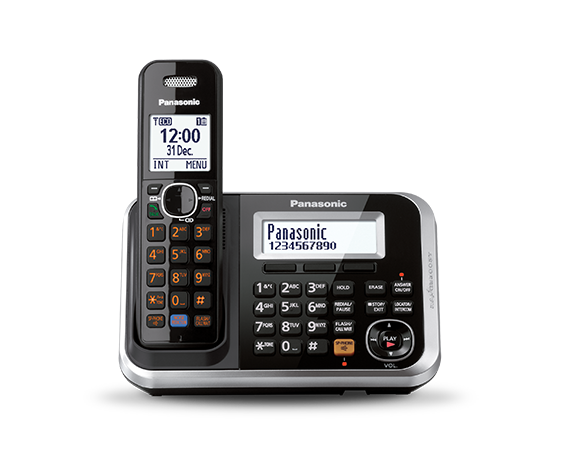PANASONIC DIGITAL CORDLESS PHONE KX-TG6841BXB