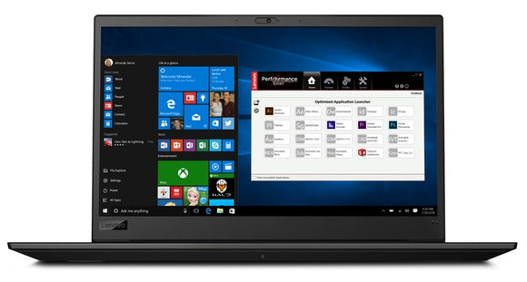 "Laptop Lenovo Notebook ThinkPad P72 i7-8850H 16GB 1TB 512GB SSD M.2 Quadro 6GB 17.3"" (20MB000VED)"