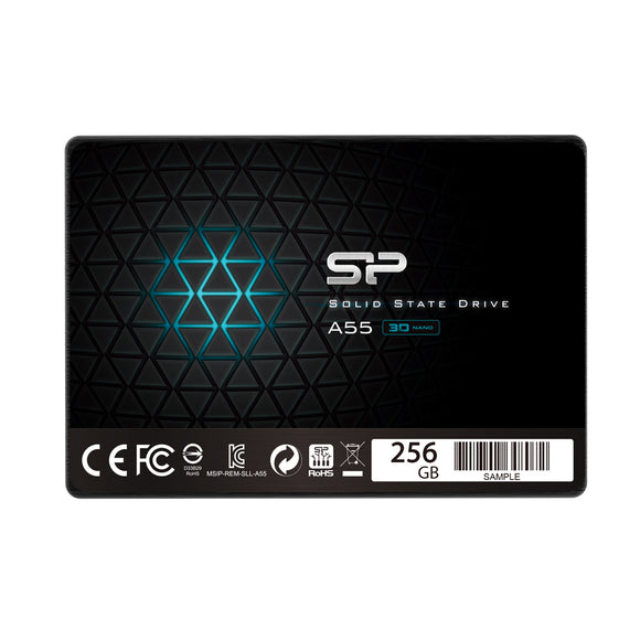Silicon Power 256GB-512 GB- 1TB SSD 3D NAND A55 SLC Cache Performance Boost SATA III 2.5