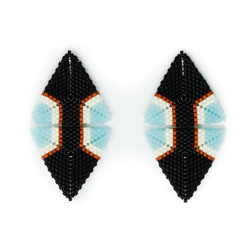 Ray Beaded Earrings