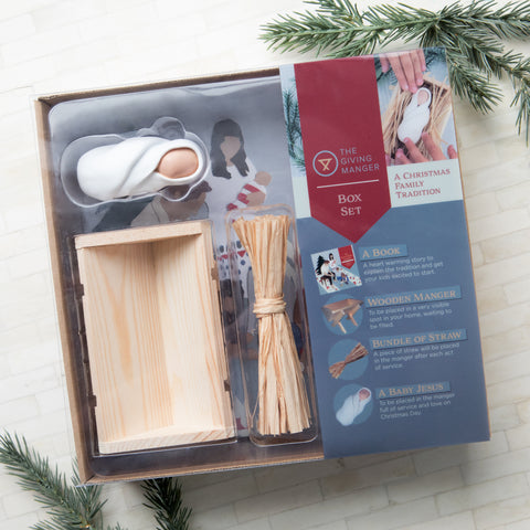 Sell the Giving Manger in your shop this Christmas season wholesale pricing available