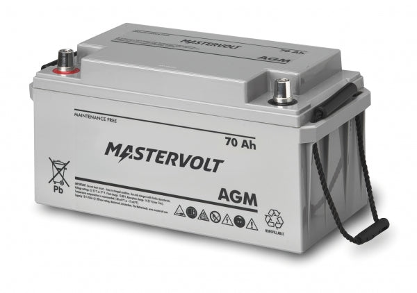 Mastervolt 12 Volt 70 Amp Agm Battery