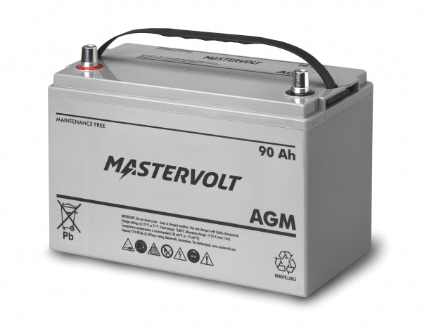 Mastervolt 12 Volt 90 Amp Agm Battery