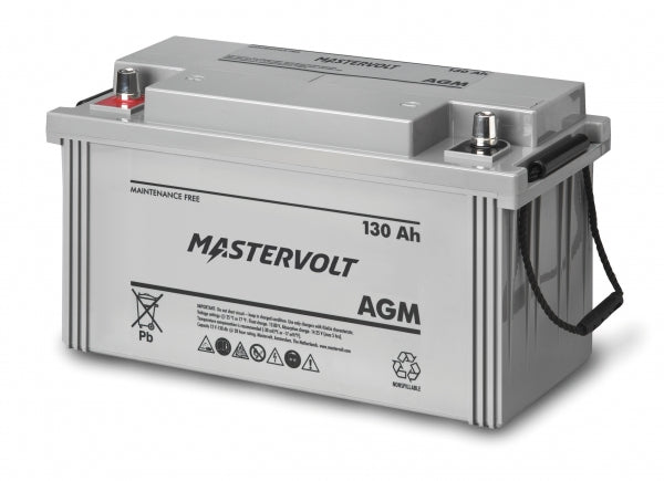 Mastervolt 12 Volt 130 Amp Agm Battery