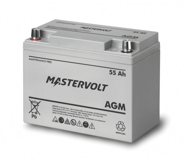 Mastervolt 12 Volt 55 Amp Agm Battery