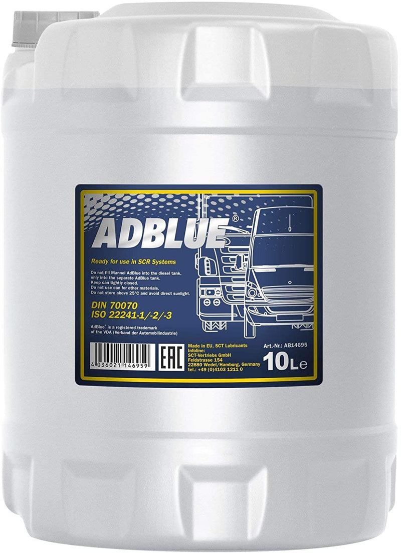 Mannol Adblue In 10 Litre Pails