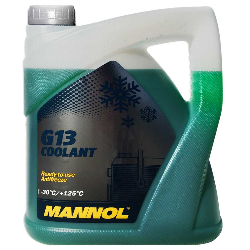 Mannol 5 Lt.Coolant G13 (-30) Green