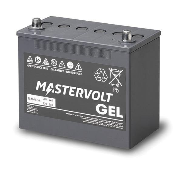 Mastervolt 12 Volt 55 Amp Gel Battery