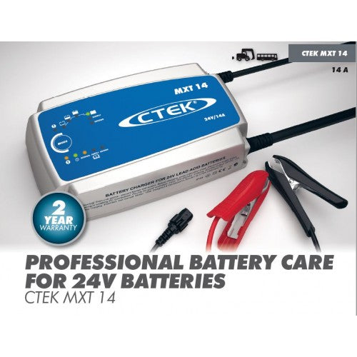Ctek Xt-14000 24 Volt 14 Amp Battery Charger