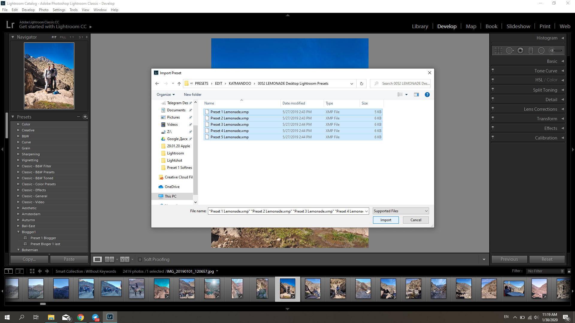 HOW TO INSTALL DESKTOP LIGHTROOM PRESET from KatManDooPRESETS