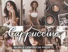 Load image into Gallery viewer, 15 Mobile Presets CAPPUCCINO