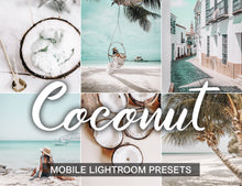 Load image into Gallery viewer, 15 Mobile Presets COCONUT