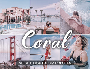 15 Mobile Presets CORAL