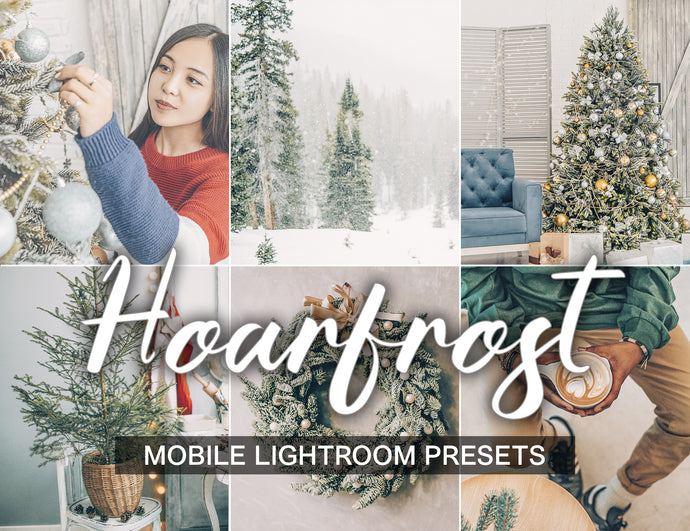 15 Mobile Presets HOARFROST