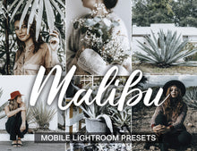 Load image into Gallery viewer, 15 Mobile Presets MALIBU