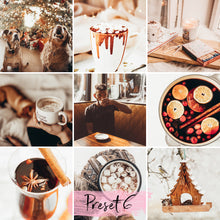 Load image into Gallery viewer, 15 Mobile Presets MULLED WINE
