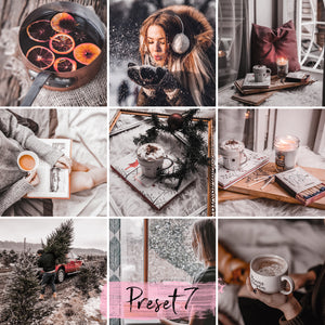 15 Mobile Presets MULLED WINE