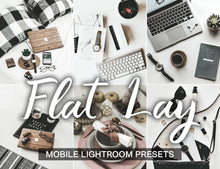 Load image into Gallery viewer, 15 Mobile Presets FLAT LAY